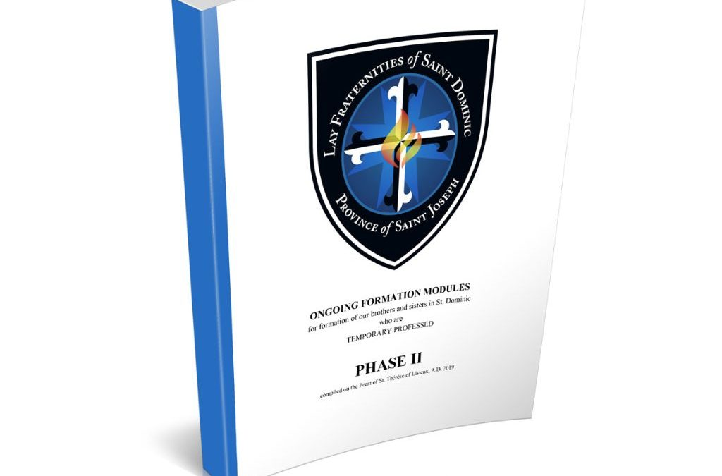 Ongoing (Temporary Professed) Formation: Phase 2 (Downloadable PDF)